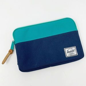 Herschel Zip Top Color Block Accessory Clutch